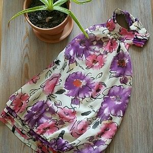 XXI Backless Floral Top
